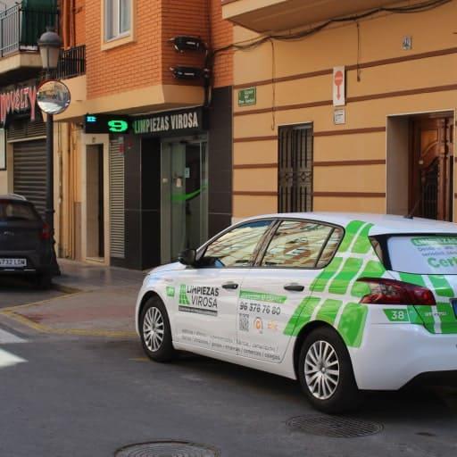 Limpiezas Castellón vehículo